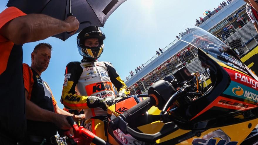 Victor Steeman, Freudenberg KTM Junior Team, Jerez RACE 1