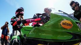 Ana Carrasco, Kawasaki Proves WorldSSP300, Jerez RACE 1