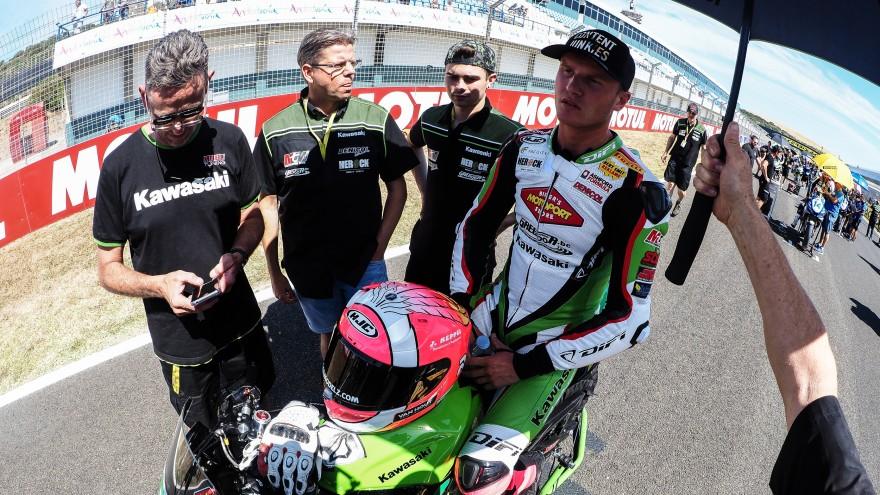 Scott Deroue, Kawasaki MOTOPORT, Jerez RACE 1