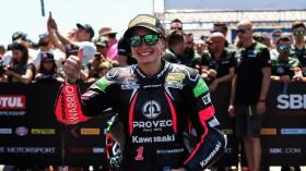 Ana Carrasco, Kawasaki Proves WorldSSP300, Jerez RACE 2