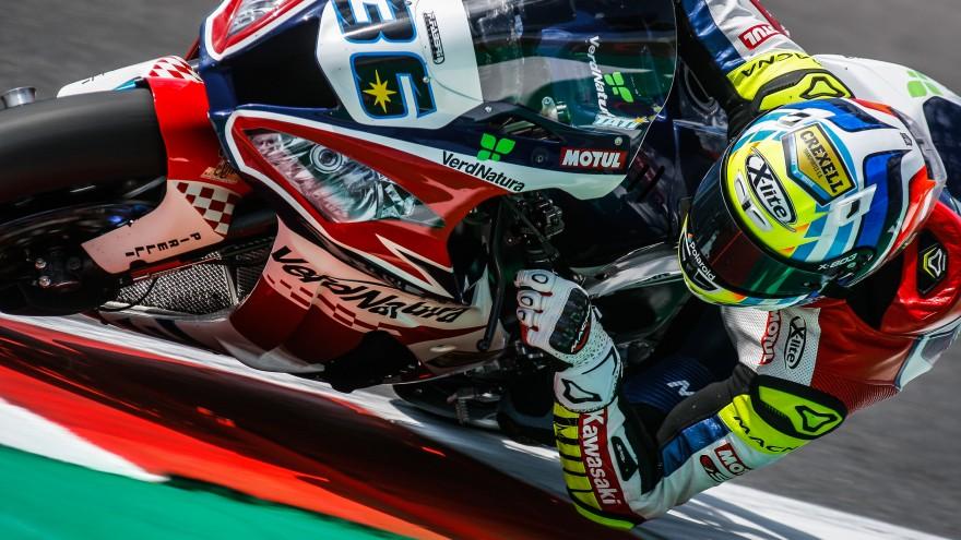 Leandro Mercado, Orelac Racing VerdNatura, Misano FP1