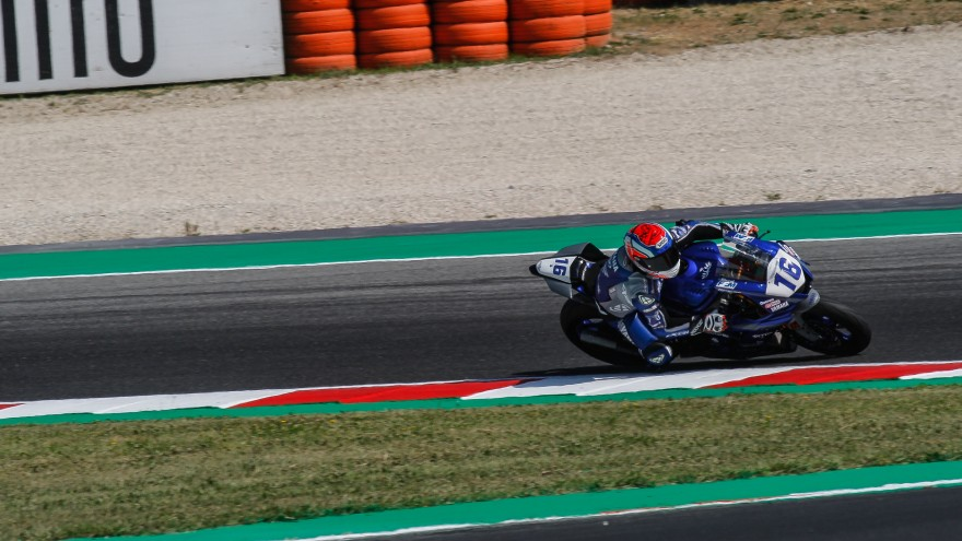 Jules Cluzel, GMT94 Yamaha, Misano FP2