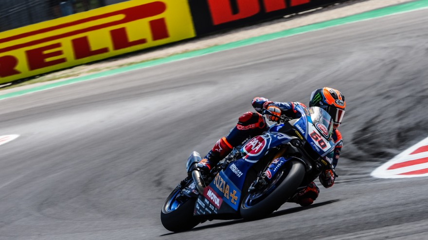Michael van der Mark, Pata Yamaha Official WorldSBK Team, Misano FP1