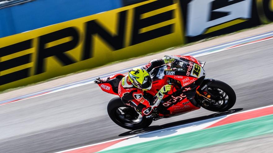 Alvaro Bautista, Aruba.it Racing - Ducati; Misano FP1