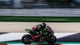 Leon Haslam, Kawasaki Racing Team WorldSBK, Misano FP2
