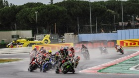 WorldSBK, Misano RACE 1