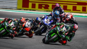 Leon Haslam, Kawasaki Racing Team WorldSBK, Misano RACE 2
