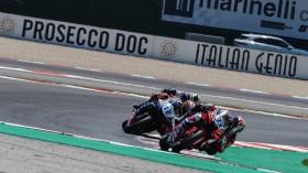 Kevin Manfredi, Team Rosso e Nero, Misano RACE
