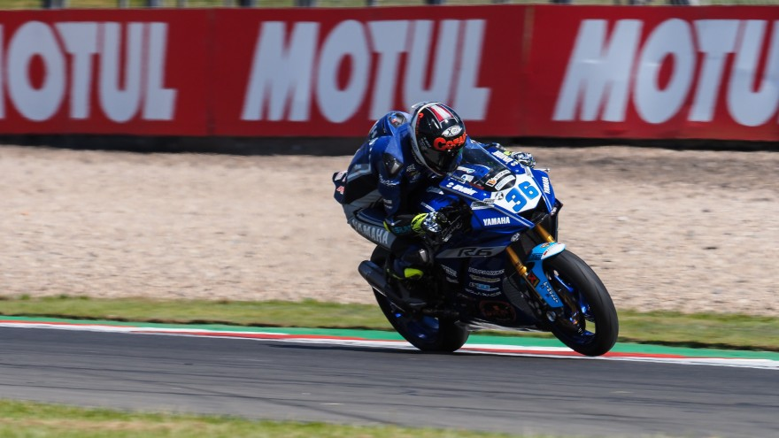 Thomas Gradinger, Kallio Racing, Donington FP2