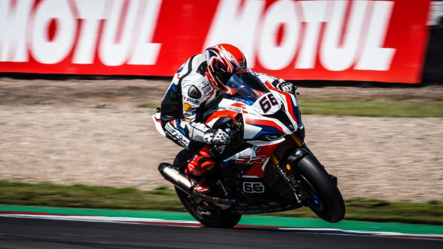 Tom Sykes, BMW Motorrad WorldSBK Team, Donington FP2