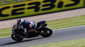 Ayrton Badovini, Team Pedercini Racing, Donington FP2