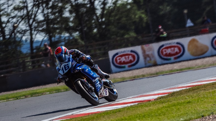 Jules Cluzel, GMT94 Yamaha, Donington FP2