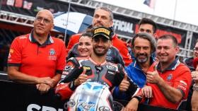 Raffaele De Rosa, MV AGUSTA Reparto Corse, Donington Tissot Superpole