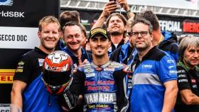 Loris Baz, Ten Kate Racing - Yamaha, Donington RACE 1