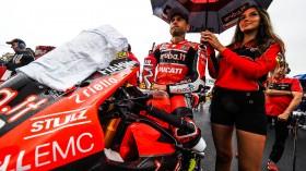 Alvaro Bautista, Aruba.it Racing - Ducati, Donington RACE 1