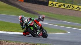 Leon Haslam, Kawasaki Racing Team WorldSBK, Donington RACE 1