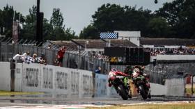 Toprak Razgatioglu, Turkish Puccetti Racing, Jonathan Rea, Kawasaki Racing Team WorldSBK, Donington RACE 2