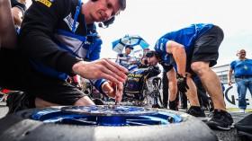 Loris Baz, Ten Kate Racing - Yamaha, Donington RACE 2