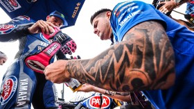 Alex Lowes, Pata Yamaha WorldSBK Team, Donington Tissot Superpole RACE
