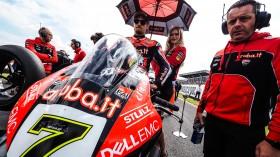 Chaz Davies, Aruba.it Racing - Ducati, Donington Tissot Superpole RACE
