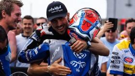 Loris Baz, Ten Kate Racing - Yamaha, Jules Cluzel, GMT94 YAMAHA, Donington RACE