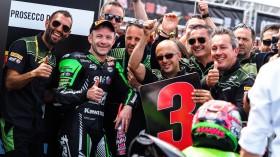 Lucas Mahias, Kawasaki Puccetti Racing, Donington RACE