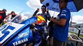 Andy Verdoia, BCD Yamaha MS Racing, Donington RACE