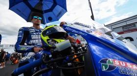 Kevin Sabatucci, Team Trasimeno Yamaha, Donington RACE