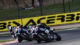 Ayrton Badovini, Kyle Smith, Team Pedercini Racing, Donington RACE
