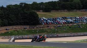 Alex Lowes, Pata Yamaha WorldSBK Team, Leon Haslam, Kawasaki Racing Team WorldSBK, Donington RACE 2