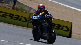 Loris Baz, Ten Kate Racing - Yamaha, Laguna Seca FP2