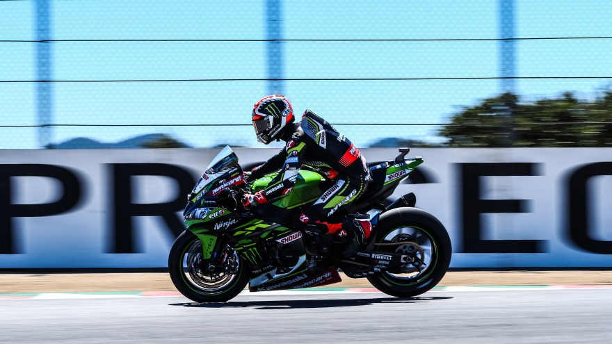 Jonathan Rea, Kawasaki Racing Team WorldSBK, Laguna Seca FP1
