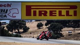 Chaz Davies, Aruba.it Racing - Ducati, Laguna Seca FP2