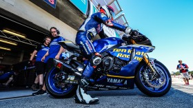 Loris Baz, Ten Kate Racing - Yamaha, Laguna Seca Tissot Superpole