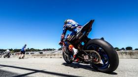Michael van der Mark, Pata Yamaha WorldSBK Team, Laguna Seca Tissot Superpole