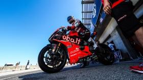 Chaz Davies, Aruba.it Racing - Ducati, Laguna Seca Tissot Superpole