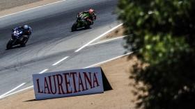 Marco Melandri, GRT Yamaha WorldSBK, Jonathan Rea, Kawasaki Racing Team WorldSBK, Laguna Seca FP2