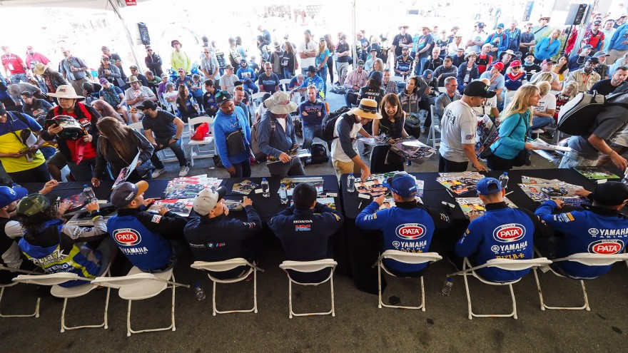WorldSBK, Laguna Seca Autograph Session