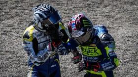 Alessandro Delbianco, Althea Mie Racing Team, J.D. Beach, Attack Performance Estenson Yamaha, Laguna Seca Tissot Superpole RACE
