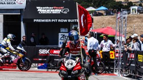 Toprak Razgatioglu, Turkish Puccetti Racing, Laguna Seca RACE 1