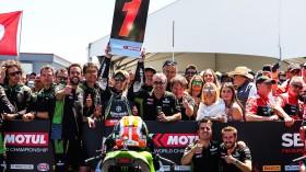 Jonathan Rea, Kawasaki Racing Team WorldSBK, Laguna Seca RACE 1