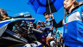 Loris Baz, Ten Kate Racing - Yamaha, Laguna Seca RACE 1
