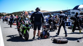 Jonathan Rea, Kawasaki Racing Team WorldSBK, Laguna Seca Tissot Superpole RACE