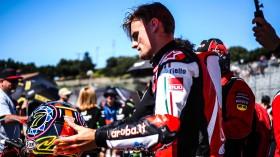 Chaz Davies, Aruba.it Racing - Ducati, Laguna Seca Tissot Superpole RACE