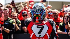 Chaz Davies, Aruba.it Racing - Ducati, Laguna Seca RACE 2