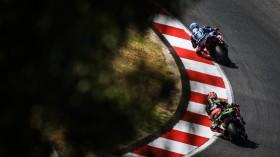 Marco Melandri, GRT Yamaha WorldSBK, Jonathan Rea, Kawasaki Racing Team WorldSBK, Portimao FP2