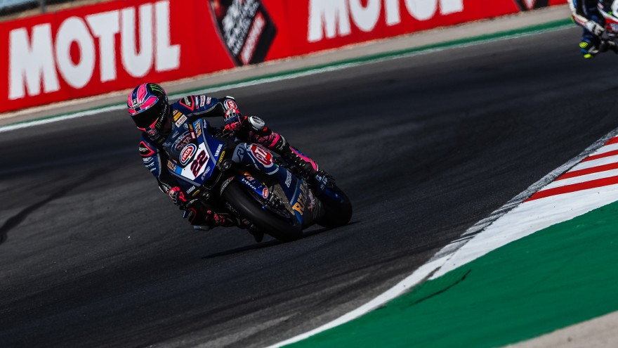 Alex Lowes, Pata Yamaha Official WorldSBK Team, Portimao FP1