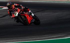 Chaz Davies, Aruba.it Racing - Ducati, Portimao FP2