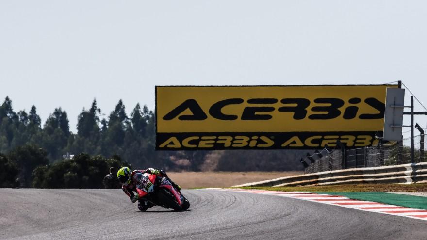 Alvaro Bautista, Aruba.it Racing - Ducati, Portimao FP1