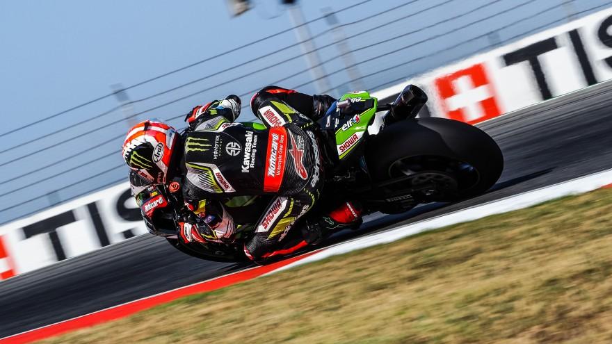 Jonathan Rea, Kawasaki Racing Team WorldSBK, Portimao FP1